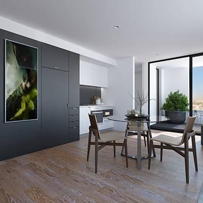 residential alto interior dining square