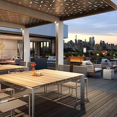 residential mopo interior terrace square